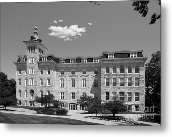 North Central College Old Main Metal Print