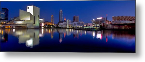 North Coast Harbor Metal Print