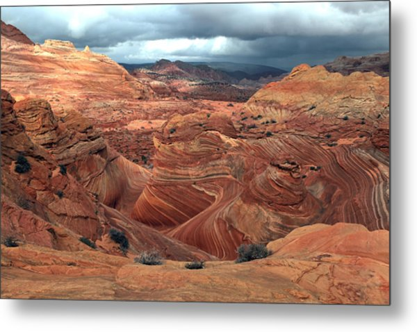 North Coyote Buttes Metal Print