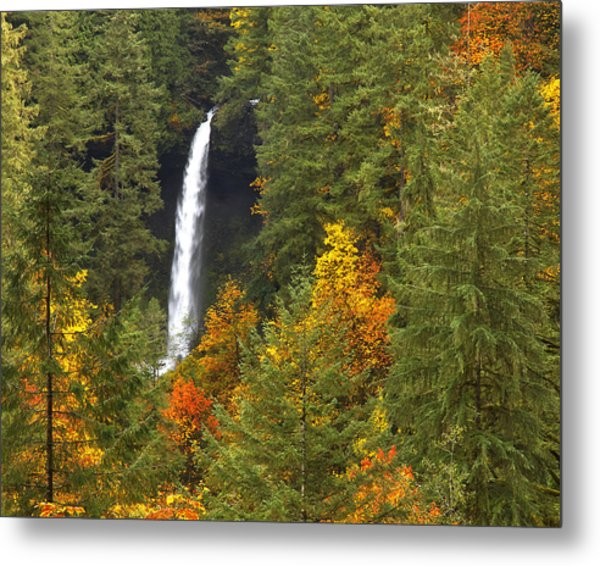 North Falls Metal Print