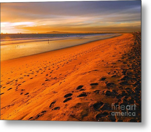North Orange County Metal Print