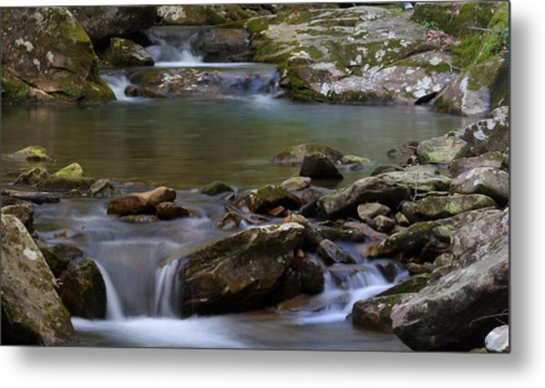 Metal Print featuring the photograph North Prong Of Flat Fork Creek by Daniel Reed