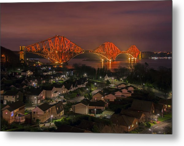 North Queensferry Metal Print