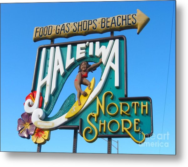 North Shore  Metal Print by Christine Stack