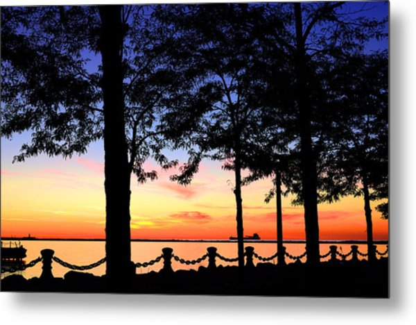 North-shore Sunset Metal Print