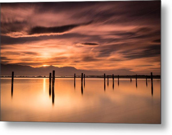 North Shore Metal Print