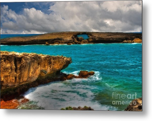 North Shore Waikiki Hawaii Metal Print