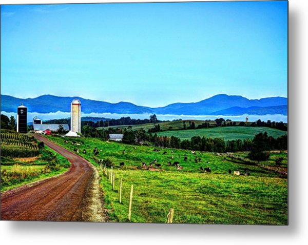 North Troy Dairy Metal Print