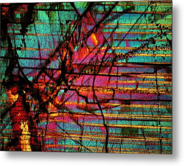 The Divide Metal Print