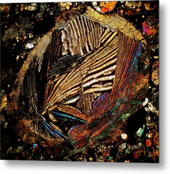 Mask Of Perfection Metal Print