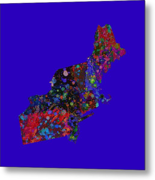 Northeastern United States 4 Metal Print