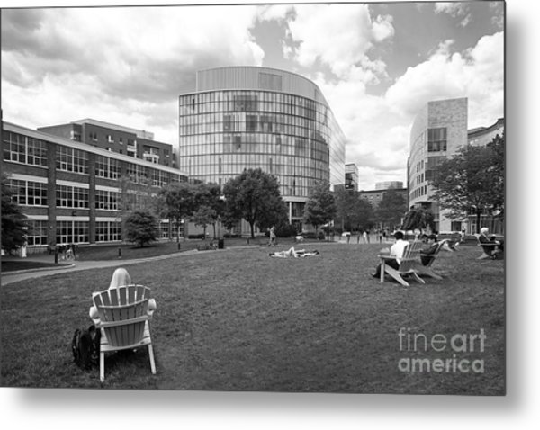 Northeastern University Behrakis Health Sciences Center Metal Print by University Icons