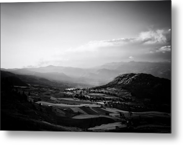 Northern Highlands Evening Metal Print