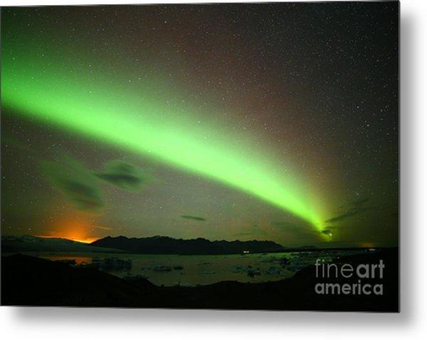 Northern Lights 2 Metal Print