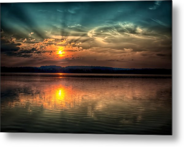 Northern Maine Sunrise Metal Print