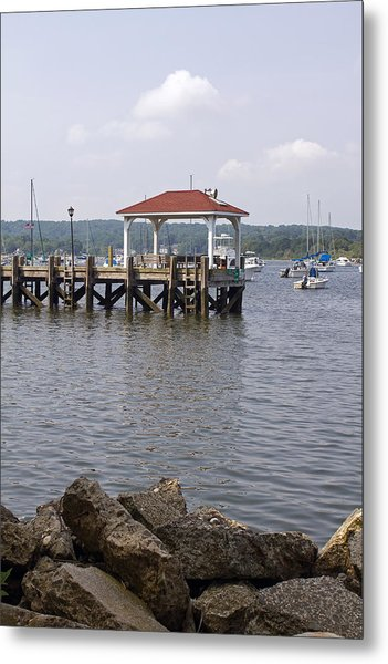 Northport Dock Metal Print