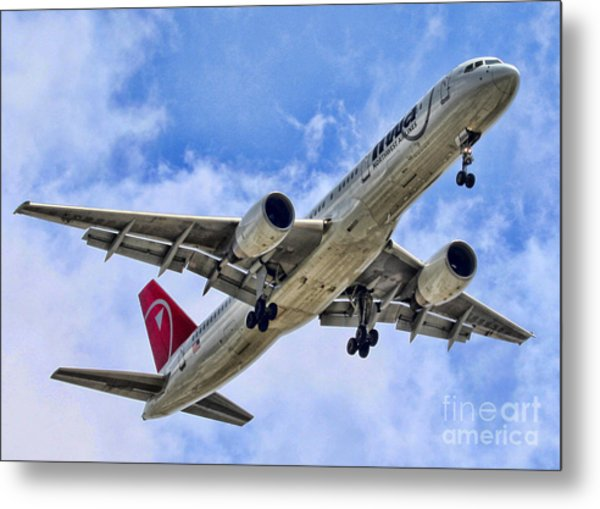 Northwest Coming In By Diana Sainz Metal Print