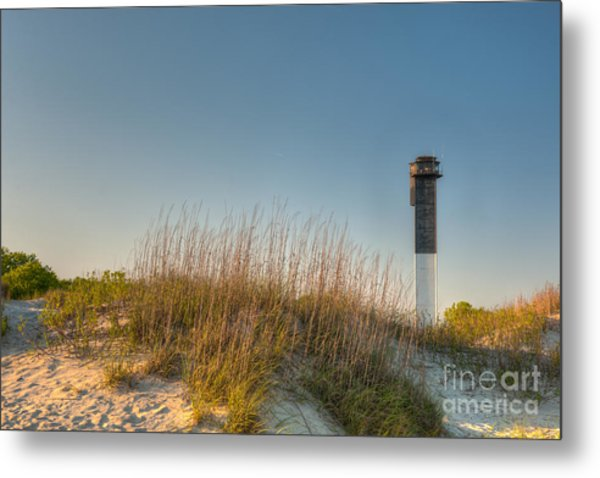 Not A Cloud In The Sky Metal Print