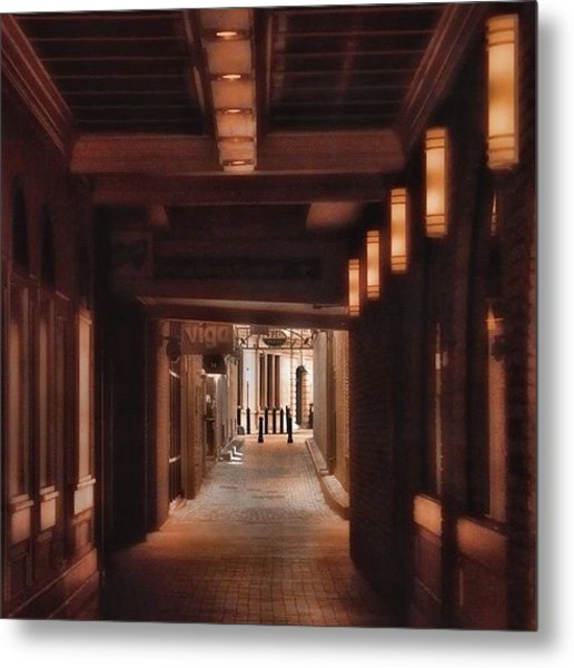 Not All Alleys Are Ugly. #alemy #boston Metal Print