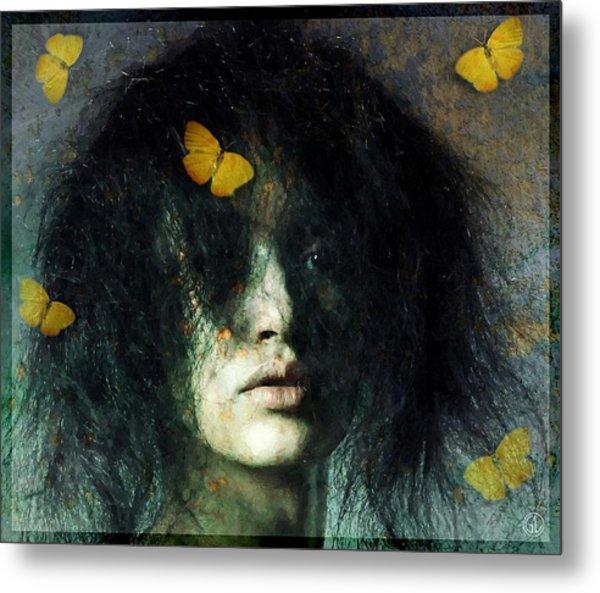 Not Even Butterflies... Metal Print by Gun Legler