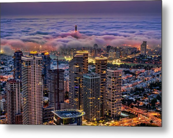 Metal Print featuring the photograph Not Hong Kong by Ron Shoshani