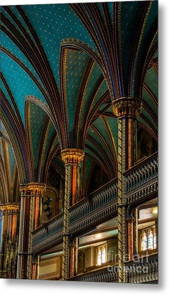 Notre Dame Basilica 2 Metal Print