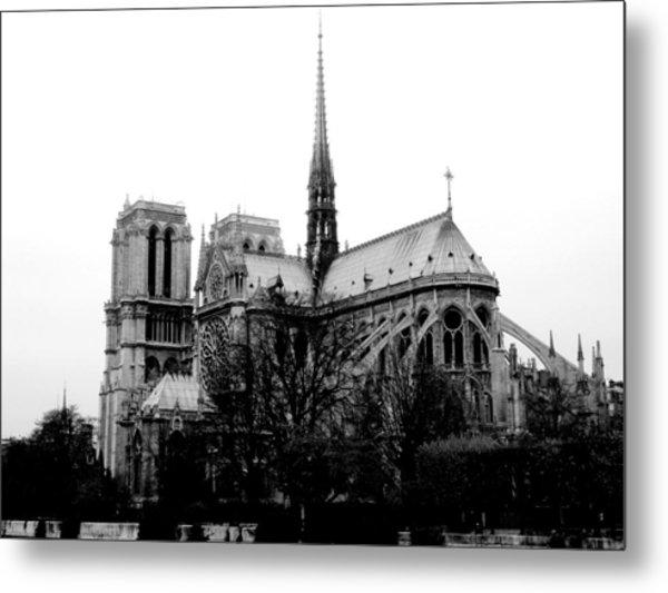Notre Dame Metal Print by Rita Haeussler