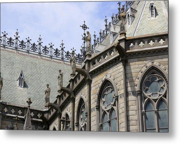 Notre Dame View Metal Print