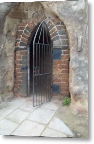Nottingham Castle Gateway Metal Print