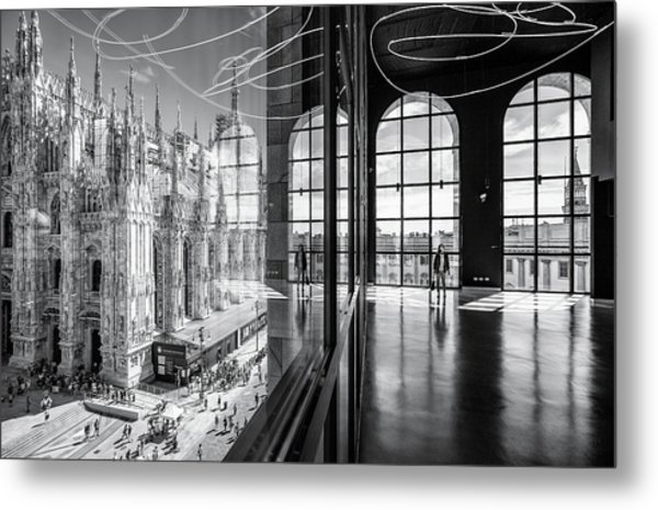 Novecento's Reflections Metal Print by Marco Tagliarino