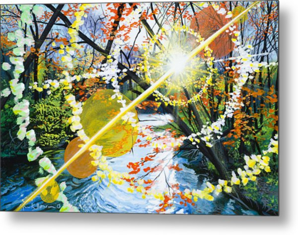 The Glorious River Metal Print