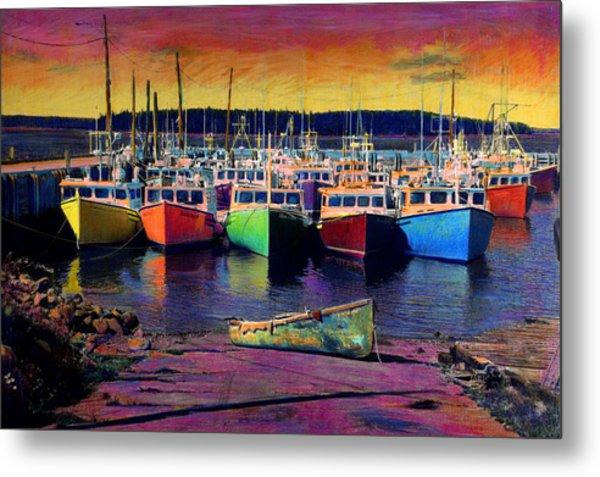 Novi Boats Metal Print