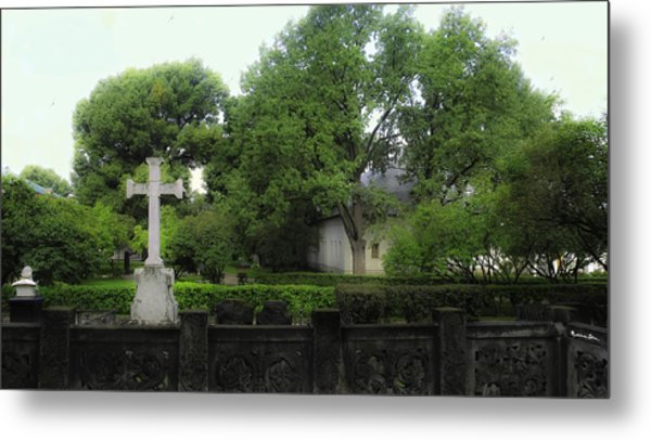 Novodevichy Cemetery 1 - Moscow - Russia Metal Print