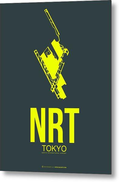Nrt Tokyo Airport Poster 2 Metal Print