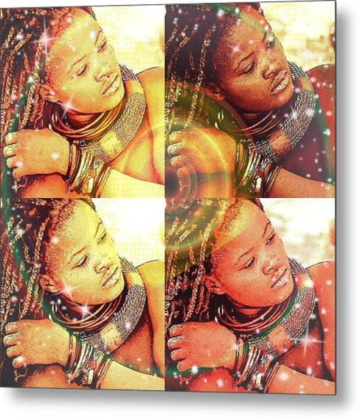 Nubian Beauty Metal Print