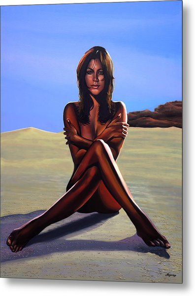 Nude Beach Beauty Metal Print