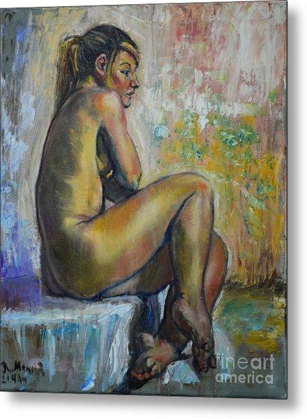 Nude Eva 1 Metal Print