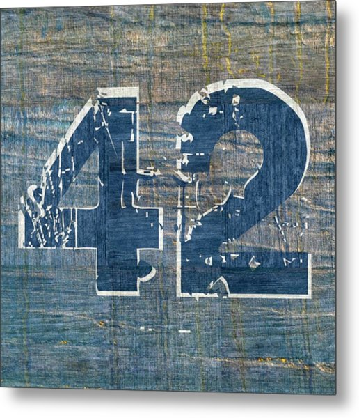 Number 42 Metal Print