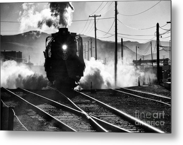 Number 844 Pulling Out Metal Print