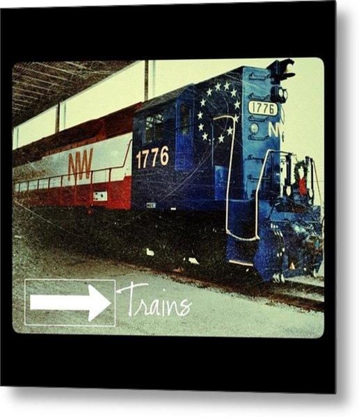 Nw Locomotive #1776 #phonto #altphoto Metal Print