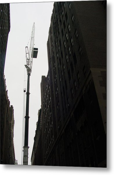 Nyc Constraction Metal Print