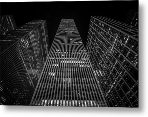 Nyc Forefront Metal Print
