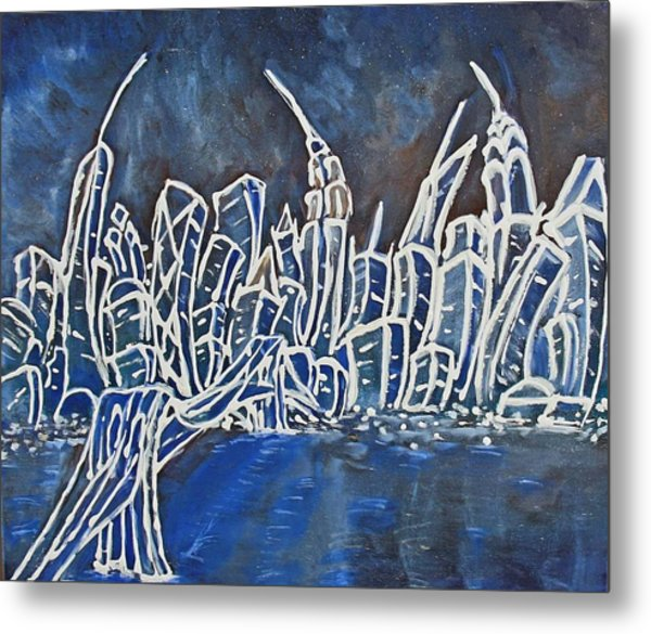 Nyc Jazz Part2 Metal Print