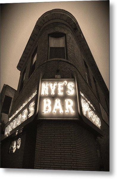 Nye's Bar Sepia V.2 Metal Print