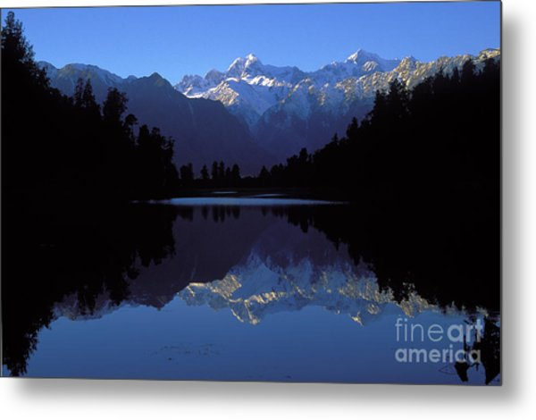 New Zealand Alps Metal Print