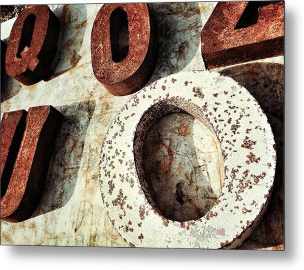 O And Co. Metal Print