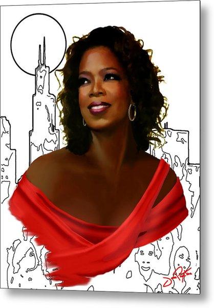 O Town Oprah Metal Print