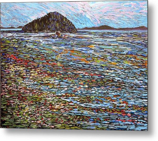 Oak Bay - Low Tide Metal Print