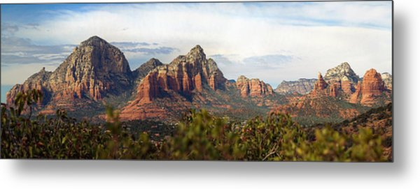 Oak Creek Canyon Sedona Pan Metal Print