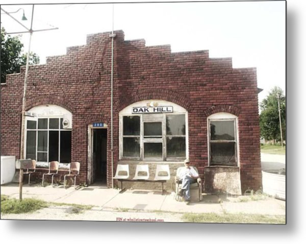 Oakhill Kansas Downtown Metal Print